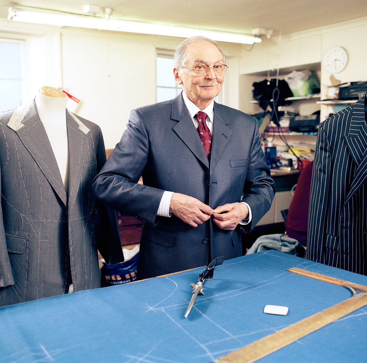 Arnold Grayson, Tailor   |   Esquire